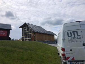 Scope Hütte während der Renovierung