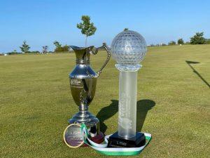 Pokale von der Landesmannschaftsmeisterschaft 2021