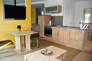 Wohnküche Apartment EG 002