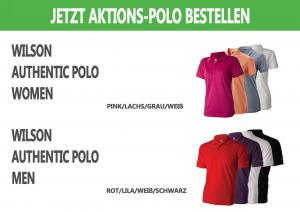 Team-Polo des Golfparks Strelasund